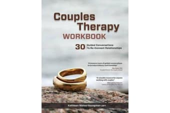 Couples Therapy Workbook - 30 Guided Conversations to Re-Connect Relationships