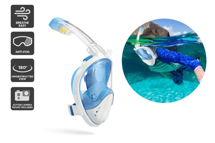 Komodo Breathe Easy TruVision Snorkel (L / XL)