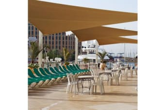 Extra Heavy Duty Shade Canopy Outdoor Triangle M