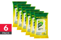 720 Pine O Cleen Surface Wipes - Lemon Lime Burst (6 x 120 Pack)