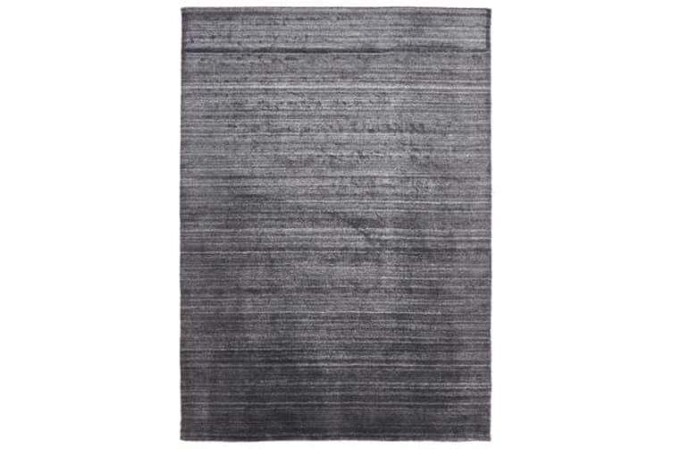 Manhattan Stylish Hand Made Rug Charcoal 280x190cm
