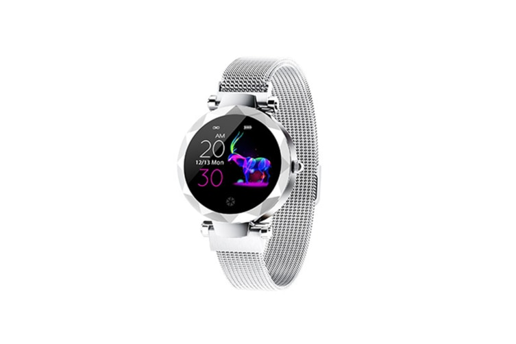 Women's Intelligent Watch Heart Rate and Blood Pressure Monitoring Sports Watch  SILVER