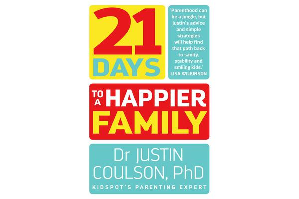 Image of 21 Days to a Happier Family