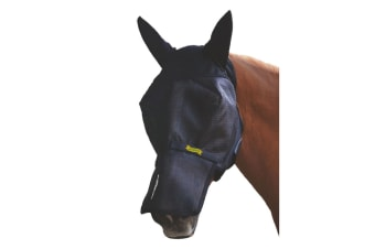 Absorbine UltraShield Fly Mask with Ears and Removable Nose (With Ears)