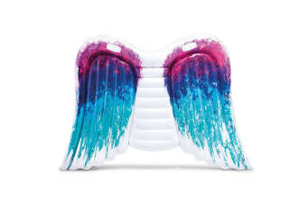 Intex 2.51m Colette Miller Angel Wings Mat Inflatable Swimming Pool Float/Seat