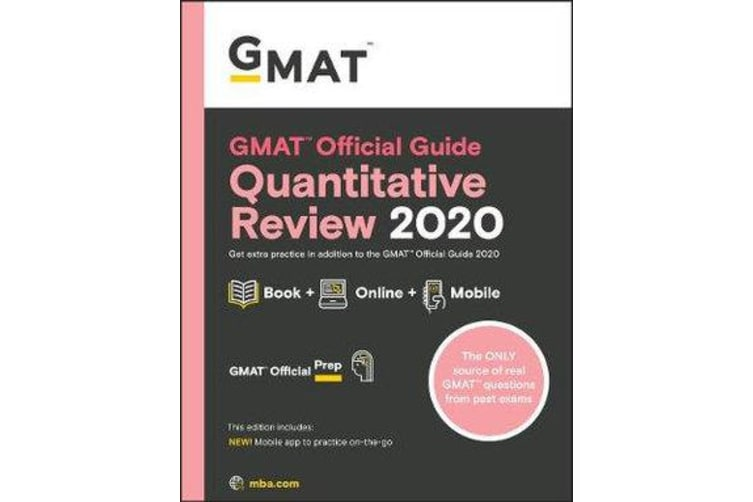 GMAT Official Guide 2020 Quantitative Review - Book + Online Question Bank