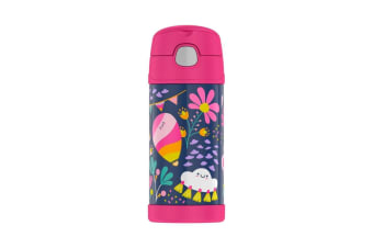 Thermos FUNtainer Stainless Steel Vacuum Insulated Drink Bottle 355ml Whimsical Cloud