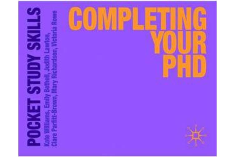 Completing Your PhD