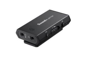 Creative Sound Blaster E1 Portable Headphone Amplifier with Integrated Mic and Dual Headphone Jacks