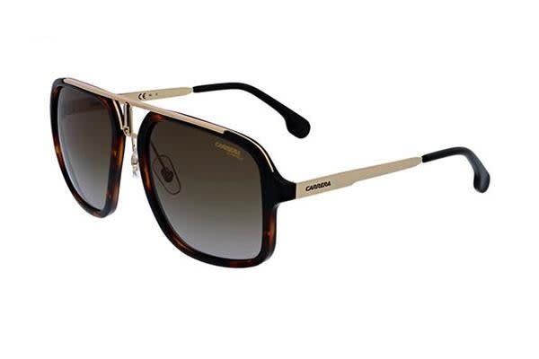 Carrera 1004/S - Havana Gold (Brown Gradient lens) Unisex Sunglasses