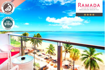 FIJI: 5 or 7 Nights at Wyndham Suites by Ramada Wailoaloa for Two or Four