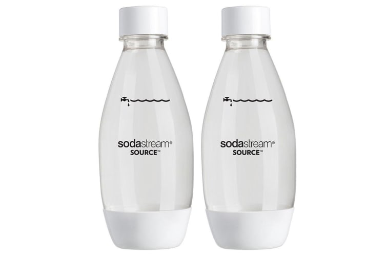 Fuse 500ml Bottles (Twin Pack - White)