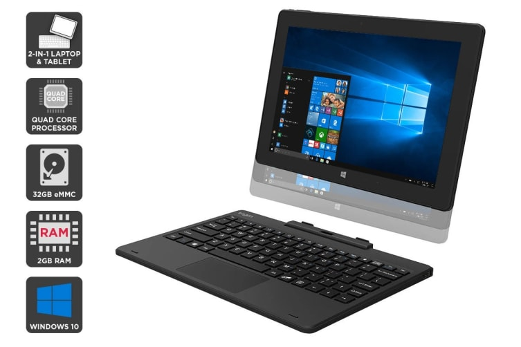 "Kogan Atlas 10.1"" 2-in-1 D300 Touchscreen Notebook"