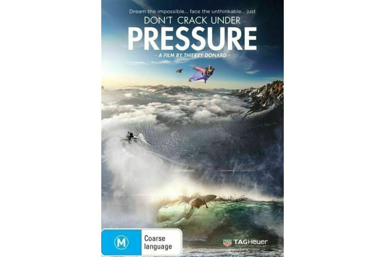 Don't Crack Under Pressure  | Region  - Rare- Aus Stock DVD  PREOWNED: DISC LIKE NEW