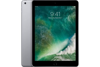 Apple iPad5 5th Generation 128GB Tablet Cellular Refurbished - Black