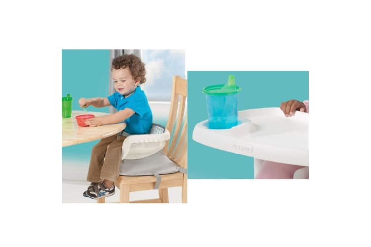 Deluxe Reclining Feeding Booster Seat Elephant by the First Years