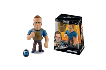 """The Fast and the Furious Brian with SWAT Gear 6"""" Metals"""