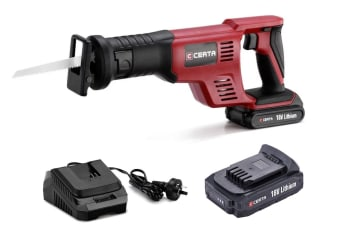Certa PowerPlus 18V Cordless Reciprocating Saw Kit