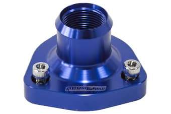 Aeroflow RB20 RB25 RB26 RB30 Holden Nissan Blue Thermostat Housing