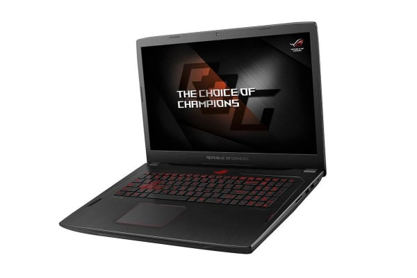 "ASUS 17.6"" FHD ROG Strix Ryzen R7-1700 16GB RAM 256GB SSD 1TB HDD RX580 Gaming Notebook (GL702ZC-GC166T-CH)"