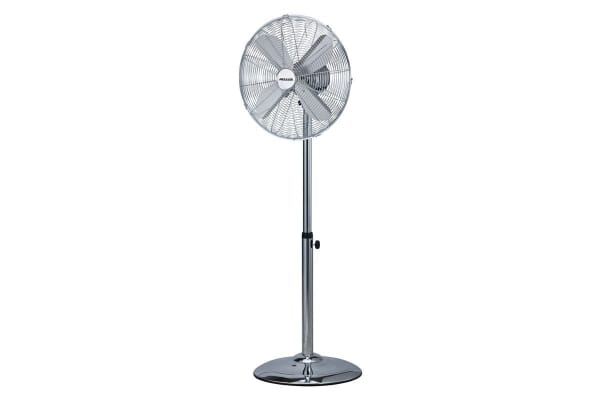 Heller 45cm Chrome Pedestal Fan (MPF45C)