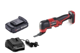 Certa PowerPlus 18V Cordless Multi Tool Kit