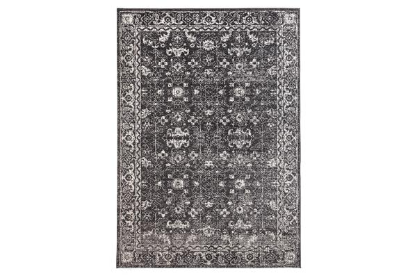 Estella Charcoal Transitional Rug 400x300cm