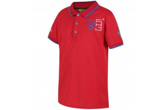 Regatta Great Outdoors Childrens/Kids Talor Quick Dry Polo Shirt (Pepper) (11-12 Years)