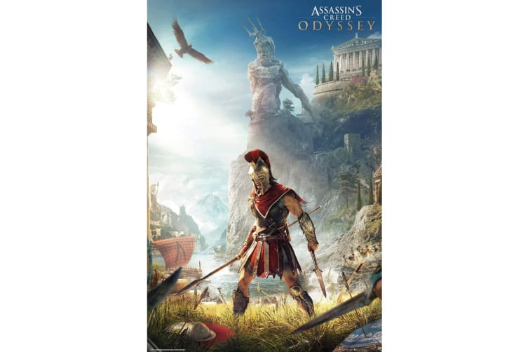Assassins Creed Odyssey Alexios Poster (Multicolour) (One Size)