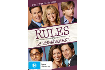 Rules of Engagement The Fourth Season 4 DVD Region 4