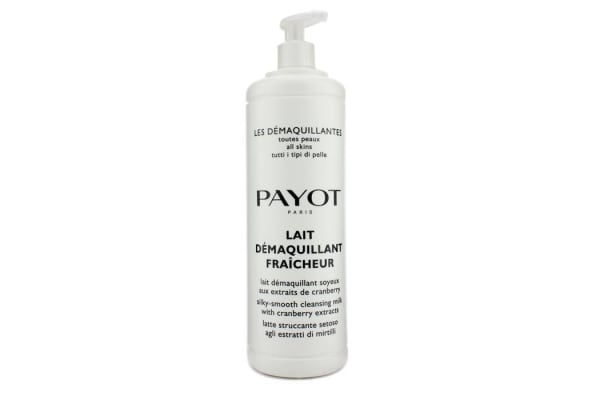 Payot Les Demaquillantes Lait Demaquillant Fraicheur Silky-Smooth Cleansing Milk - For All Skin Types (Salon Size) (1000ml/33.8oz)