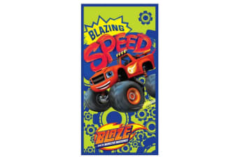 Blaze And The Monster Machines Zoom Speed Towel (Multicoloured) (One Size)