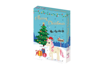 Little Rider Pony Advent Calendar (Pack Of 6) (Blue)