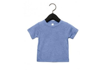 Canvas Childrens Unisex Tri-Blend T-Shirt (Blue Triblend)