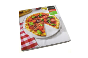 33cm Pizza Stone With Serving Rack