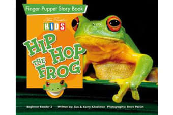Finger Pup Book - Hip Hop Frog