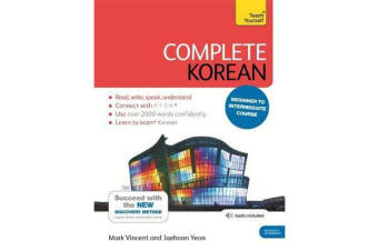 Complete Korean Beginner to Intermediate Course - (Book and audio support)
