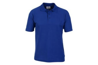 Casual Classic Mens Pique Polo (Royal)