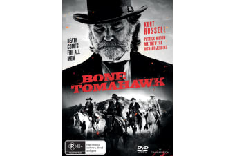 Bone Tomahawk DVD Region 4