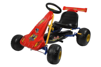 Kids Pedal Powered Go Kart Race |