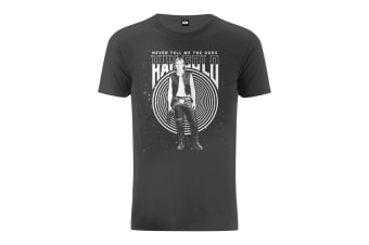 Star Wars Han Solo Never Tell Me The Odds Graphic T-Shirt (Charcoal)