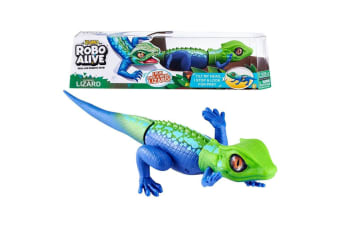 Zuru Robo Alive Lurking Lizard Robotic Toy in Green