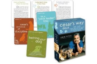 Cesar's Way Deck - 50 Tips for Training and Understanding Your Dog