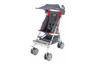 Maclaren Complete Major Elite Special Need Stroller Buggy Pk Cardinal Charcoal