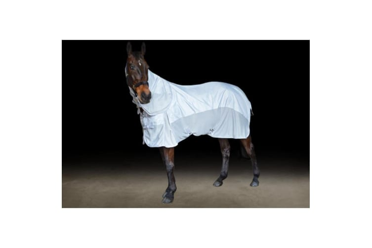 Hy Defence AirFlow 600D Combo Fly Rug (Silver/Grey) (5 ft 6)
