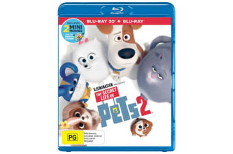 The Secret Life of Pets 2 3D Edition with 2D Edition Blu-ray Region B