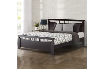 Queen Wooden Timber Bed Frame WALLE Kids Adults Mattress Base Size