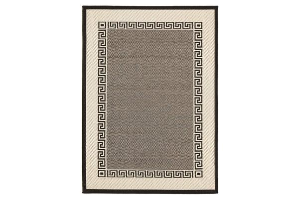 Coast Indoor Outdoor Modern Grey Rug 160X110cm