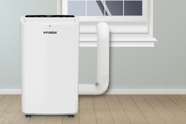 Hyundai 4.7kW Portable Air Conditioner (16000 BTU, Cooling Only)