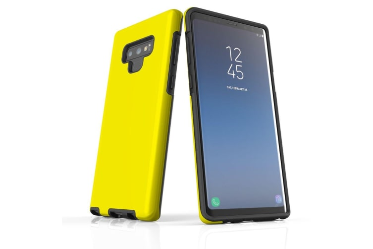 For Samsung Galaxy Note 9 Case  Shielding Back Cover  Yellow